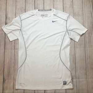 Nike Pro Combat Fitted Compression S/S Shirt